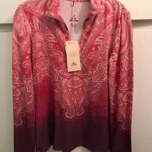 Prana long sleeve shirt NWT